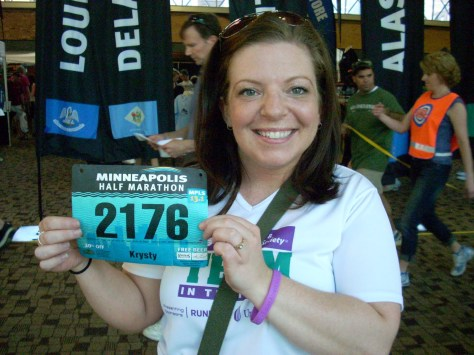 >Minneapolis half Marathon Race report!