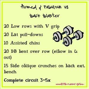 Armed & Fab v2 Back Blaster