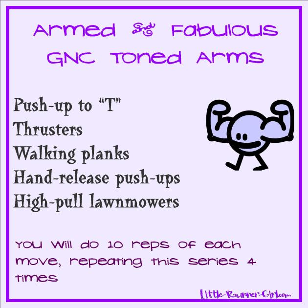 GNC Toned Arms
