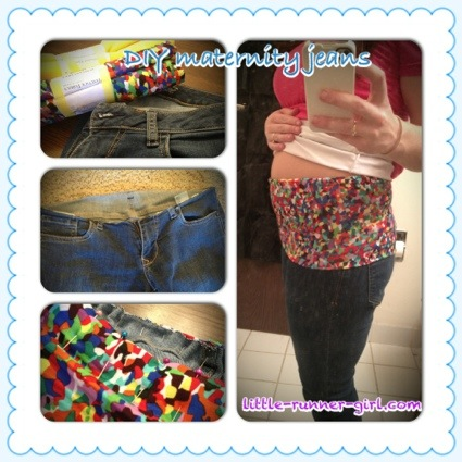 Maternity pants DIY