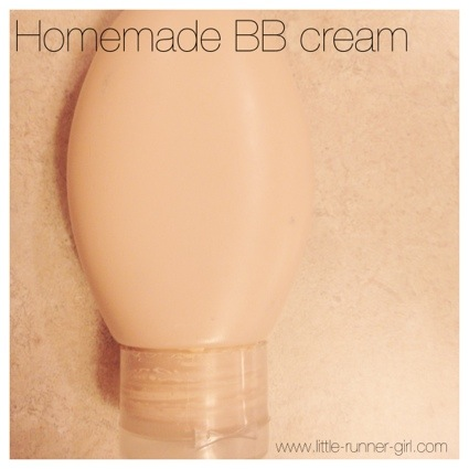 Homemade BB Cream