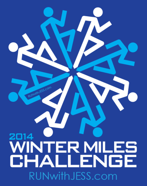 2014 winter challenge run with jess