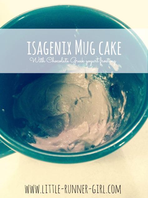 Isa mug cake