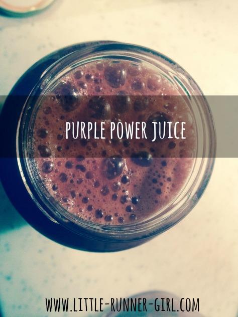 Purple Power juice