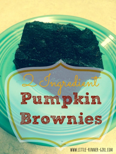 2 ingredient pumpkin brownies 2
