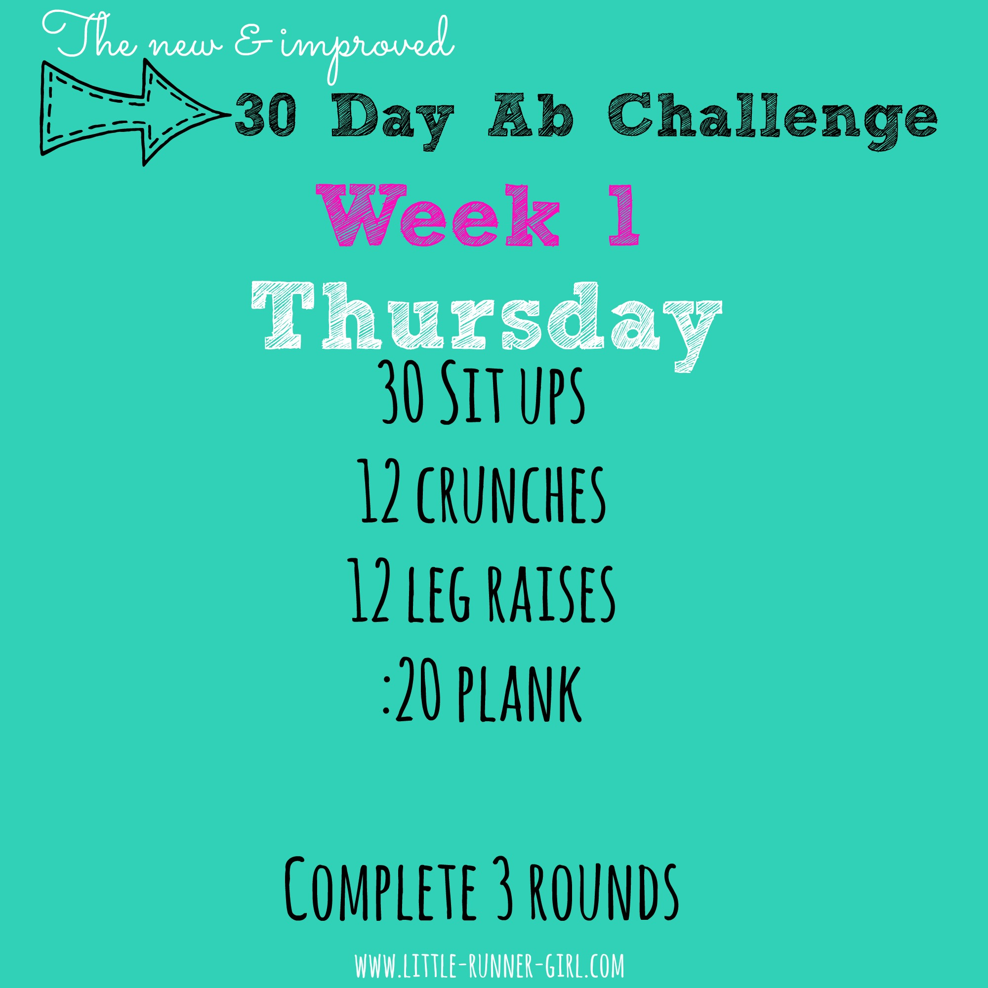 New & Improved 30 Day Squat & Abs Challenges – Day 5 | Run