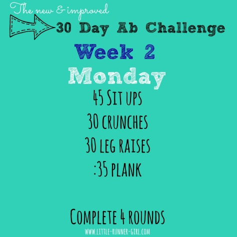 30 Day Abs w2d2