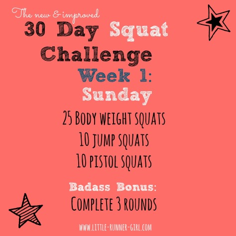 30 Day Squat w1d1