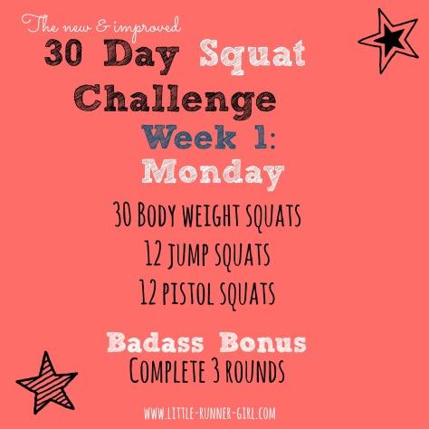 30 Day Squat w1d2
