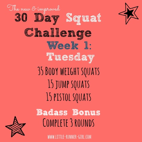 30 Day Squat w1d3