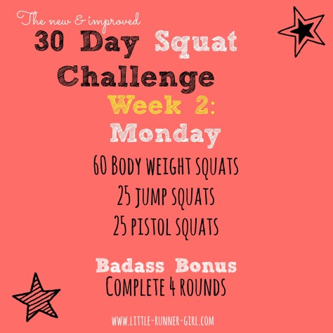 30 Day Squats w2d2