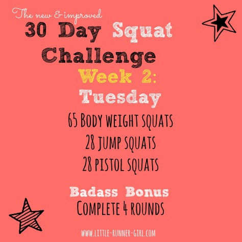 30 Day Squats w2d3