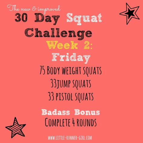 30 Day Squats w2d6
