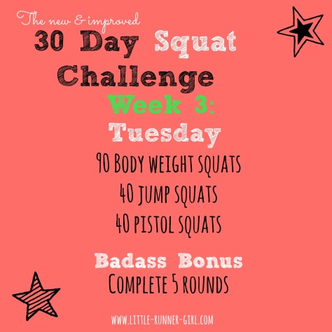 30 Day Squats w3d3
