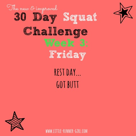 30 Day Squats w3d6