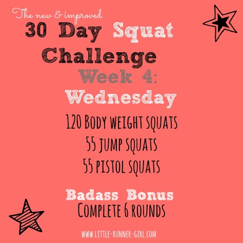 30 Day Squats w4d4