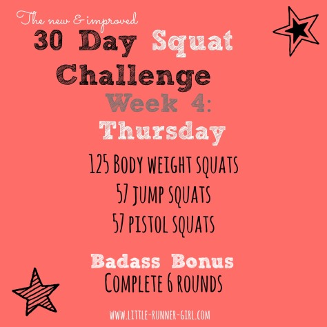 30 Day Squats w4d5