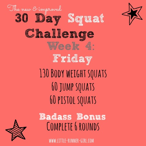 30 Day Squats w4d6