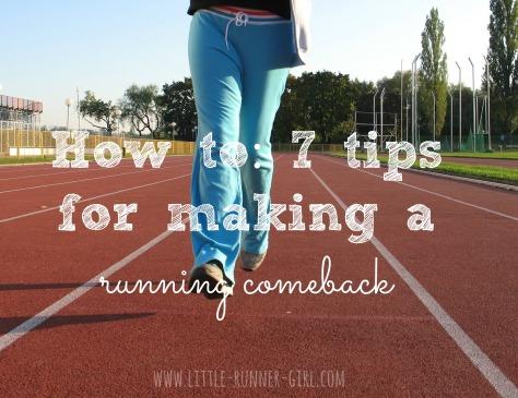 Motivation Monday running comeback