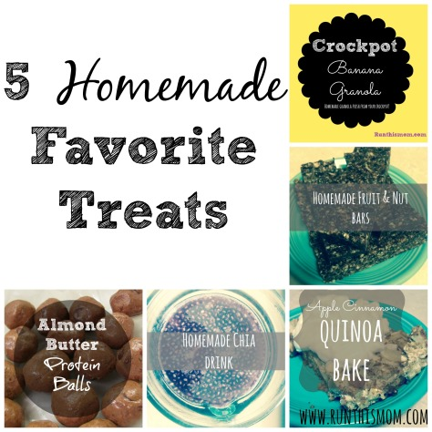 5 fav homemade treats
