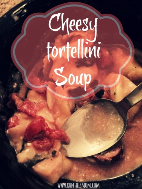 cheesy tortellini soup